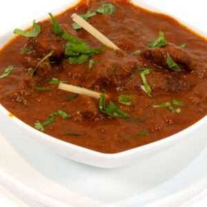 Lamb (All curries served with plain basmati rice)