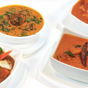 Chicken Entrees (All curries served with plain basmati rice)